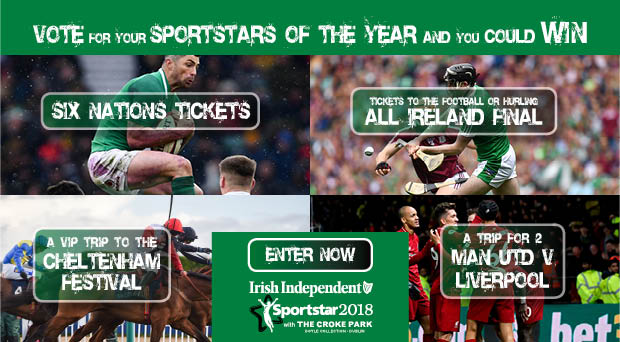 Sportstar Awards 2018 – Vote now and have your say and you could win the ultimate in sports prizes